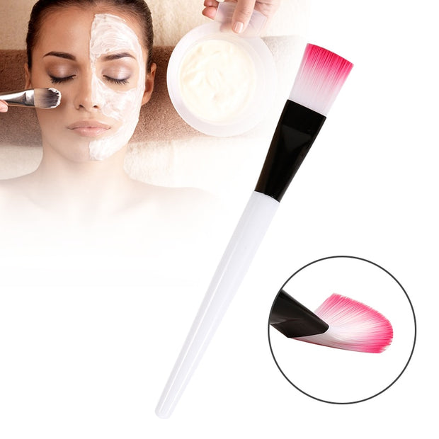 ELECOOL 1Pc Facial Mask Applying Brushes Face Eyes Makeup Cosmetic Beauty Soft Brush Tool Portable brush for masks