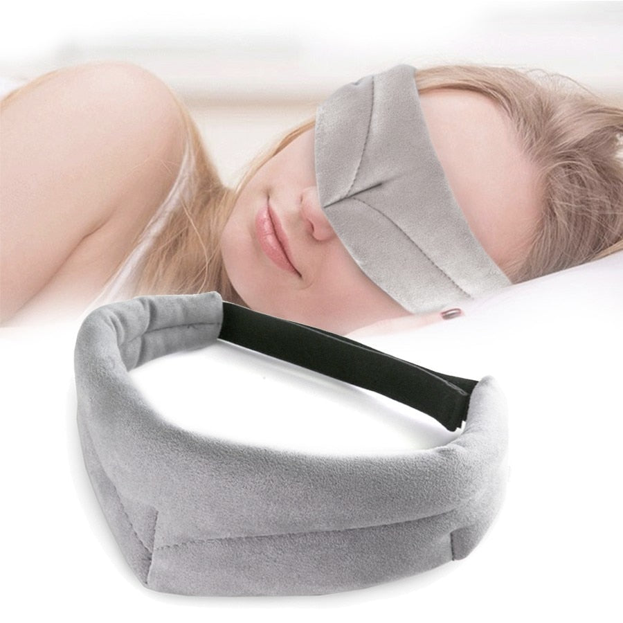 Blindfold Facial Sleeping Eye Mask For Travel Rest Sleeping aid Eyeshade Women men Cover Eye Patch Block Out Light Eyepatch