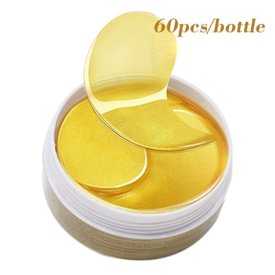60pcs/120pcs Collagen Eye Masks Crystal Eye Patch Hydrogel Eye Gel Patches Pads Dark Circles Moisturizing Sheet Mask Eyes Care