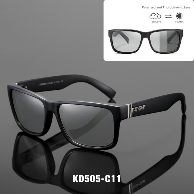 Revamp Of Sport Men Sunglasses Polarized KDEAM Shockingly Colors Sun Glasses Outdoor Elmore Style Sunglass With Box