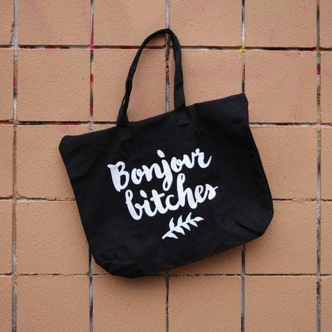 Bonjour Bitches Tote