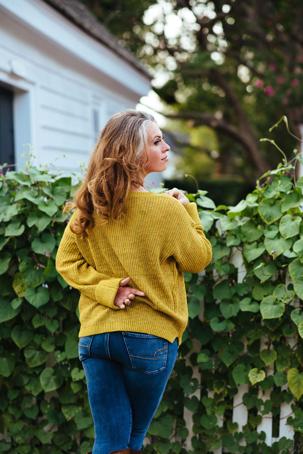 Give Me A Reason - Mustard Sweater