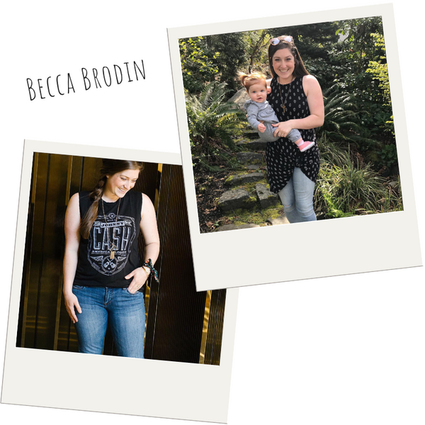 Find out more about Brand Ambassador Becca Brodin.