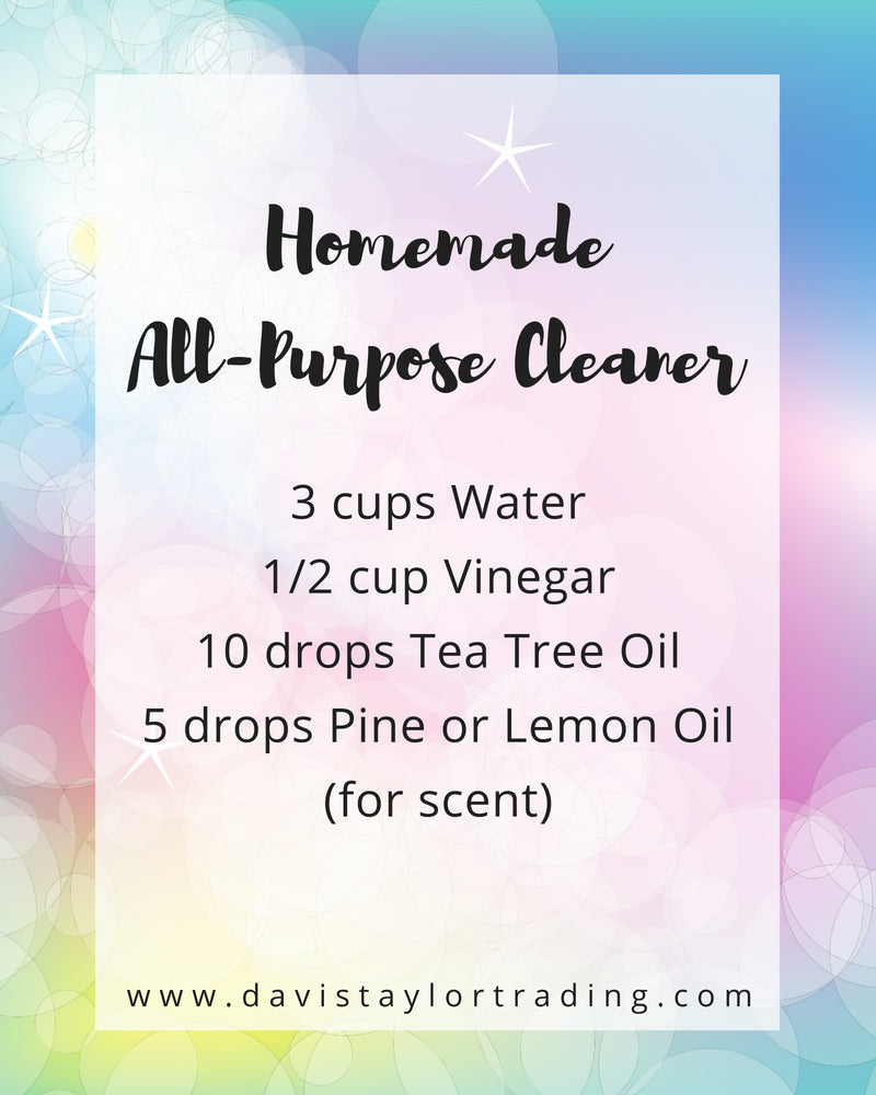 Homemade All-Purpose Cleaner - Our favorite diy cleaner for chemical free cleaning in the home.