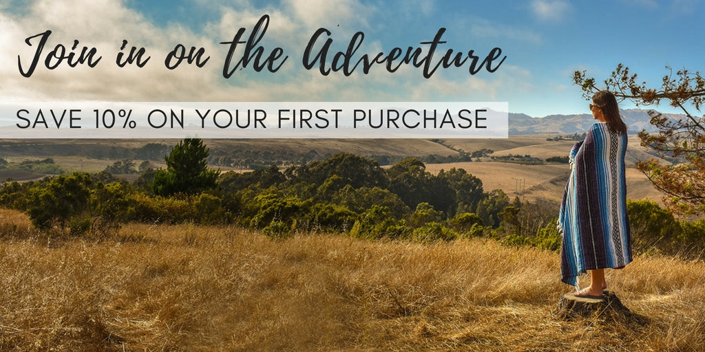 Join in on the adventure and save 10% on your first purchase!