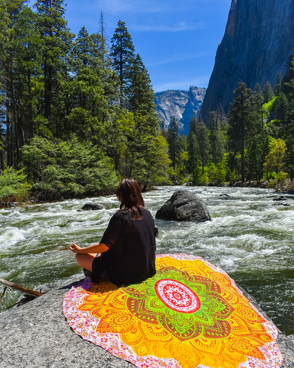 5 Essentials for the Hippie Soul - Nature: The hippie soul will not survive with out nature for long. From the beaches, to the mountains, to the desert oasis, and everything in between, time spent outdoors enjoying nature is what makes the hippie heart tick.