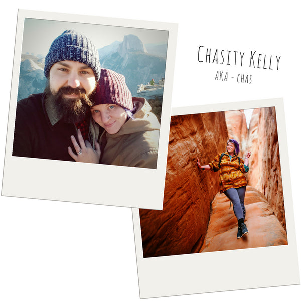 "Get to know our Brand Ambassador Chasity ""Chas"" Kelly, a peaceful soul with a thirst for adventure, an eye for bohemian style and a green thumb."