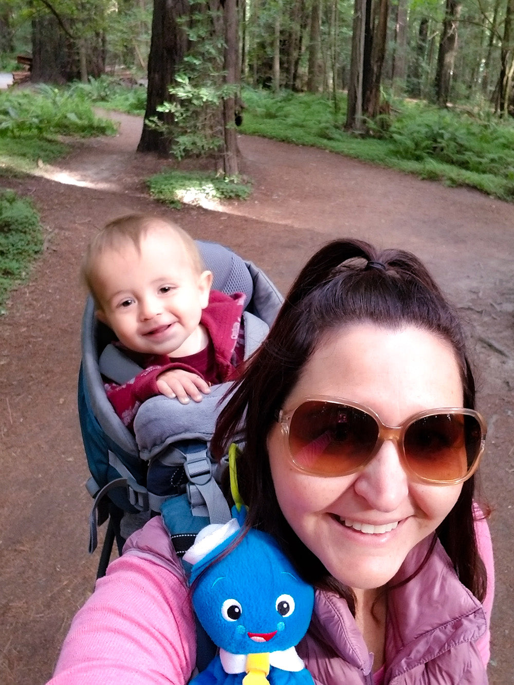 A family that hikes together stays together via Davis Taylor Trading Co ~ My son & I the reason why I work so hard on this biz!