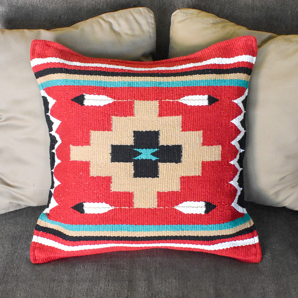 Azteca Pillow Cover | Diamond Feather