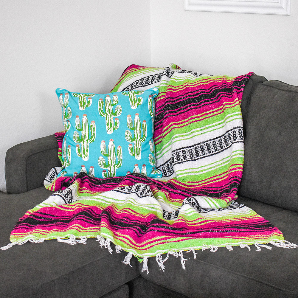 Neon Candy | Mexican Blanket