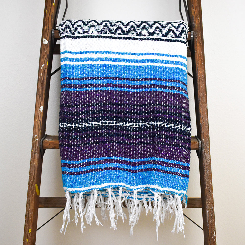 Turquoise Dream - Bohemian Fiesta Blanket from Davis Taylor Trading Co.