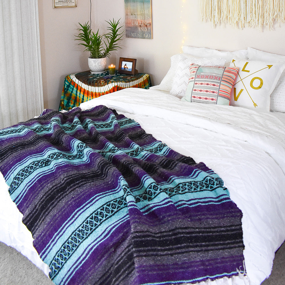 Purple Surf | Mexican Blanket