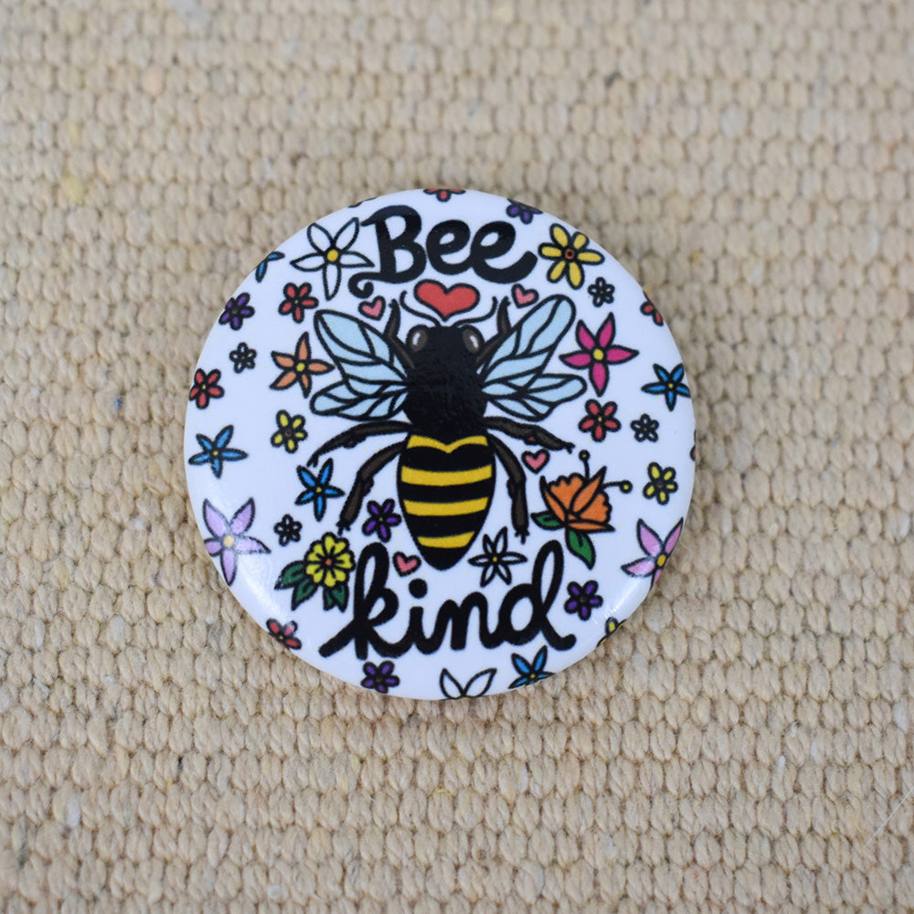Bee Kind Button