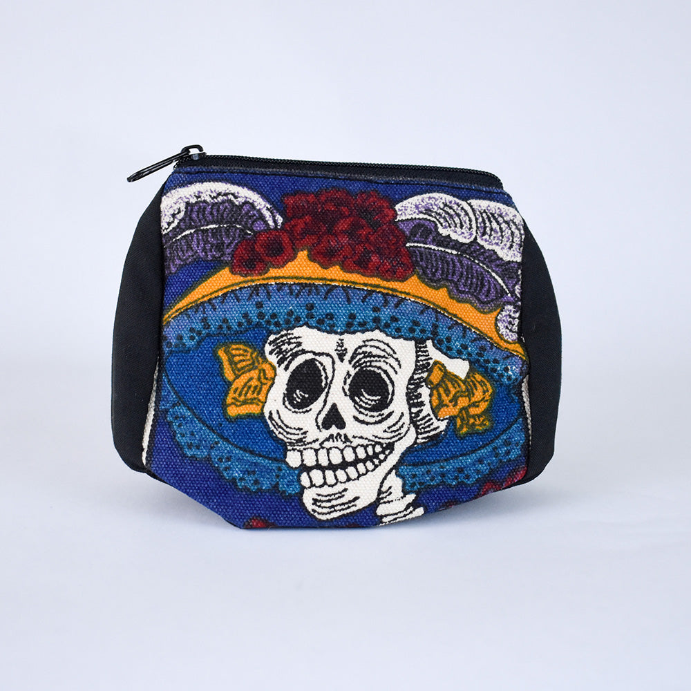 Day of the Dead Coin Purse | Fancy Hat