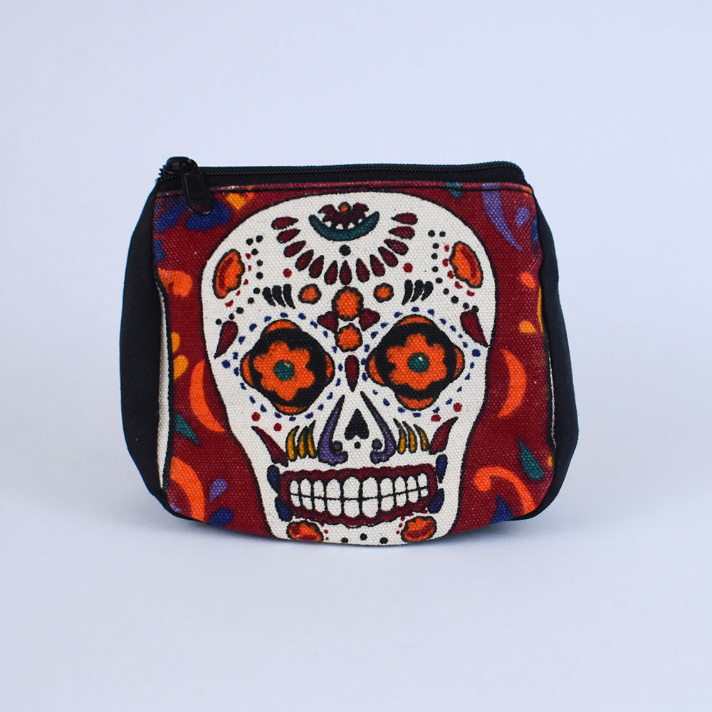 Day of the Dead Coin Purse | Sugar Skull
