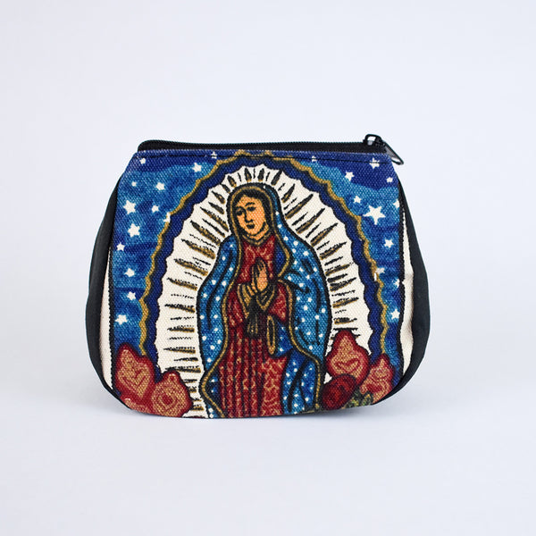Day of the Dead Coin Purse | Virgin Mary