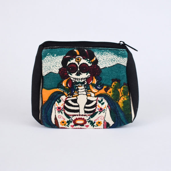 Day of the Dead Coin Purse | Lady