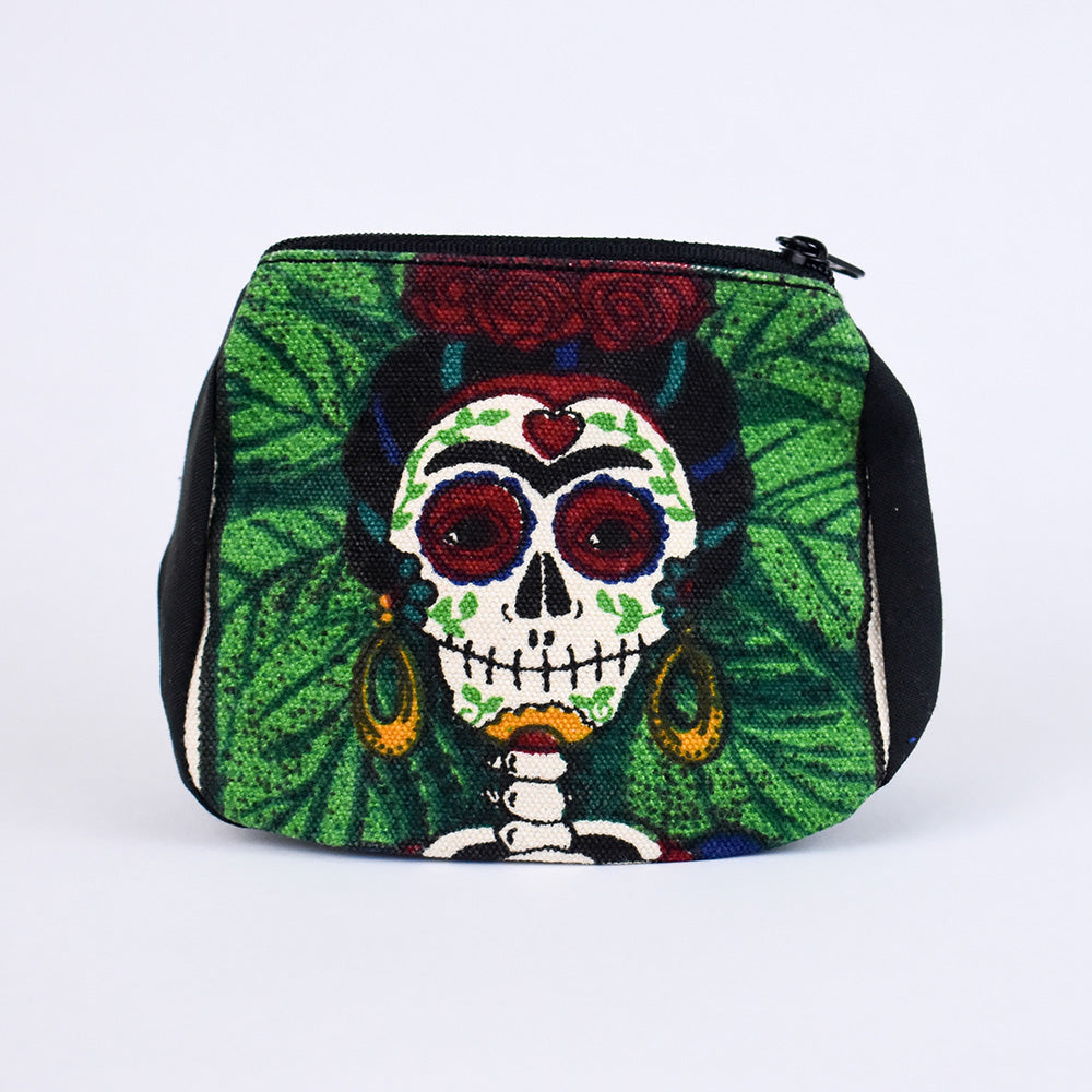 Day of the Dead Coin Purse | Frida