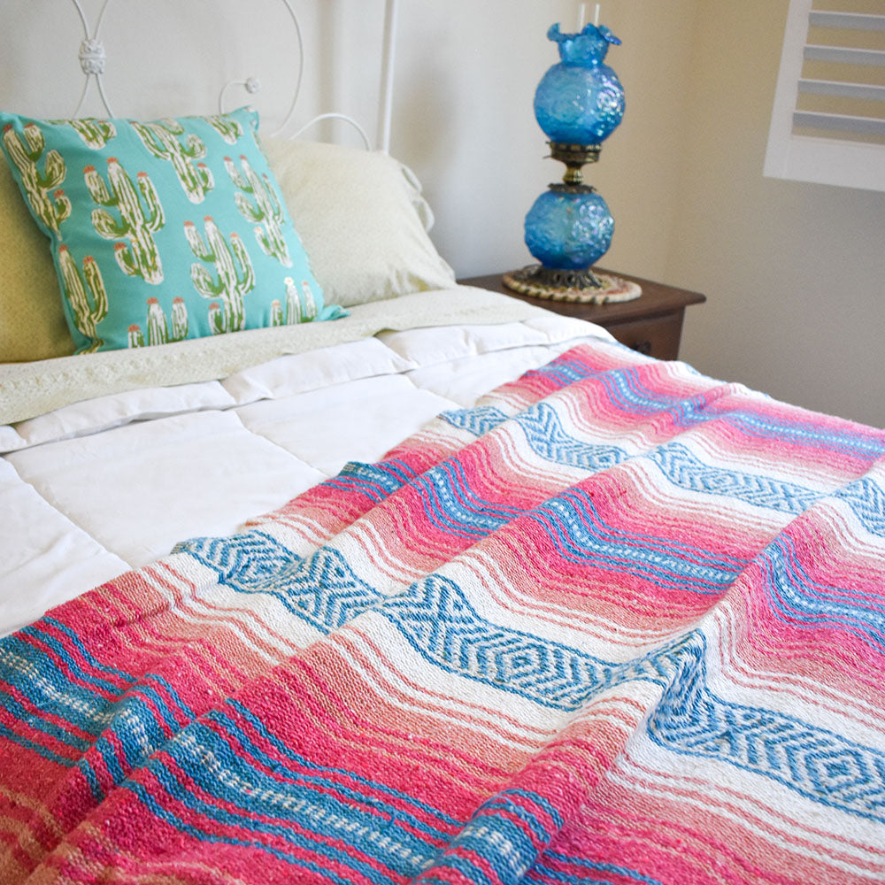 Cotton Candy | Mexican Blanket