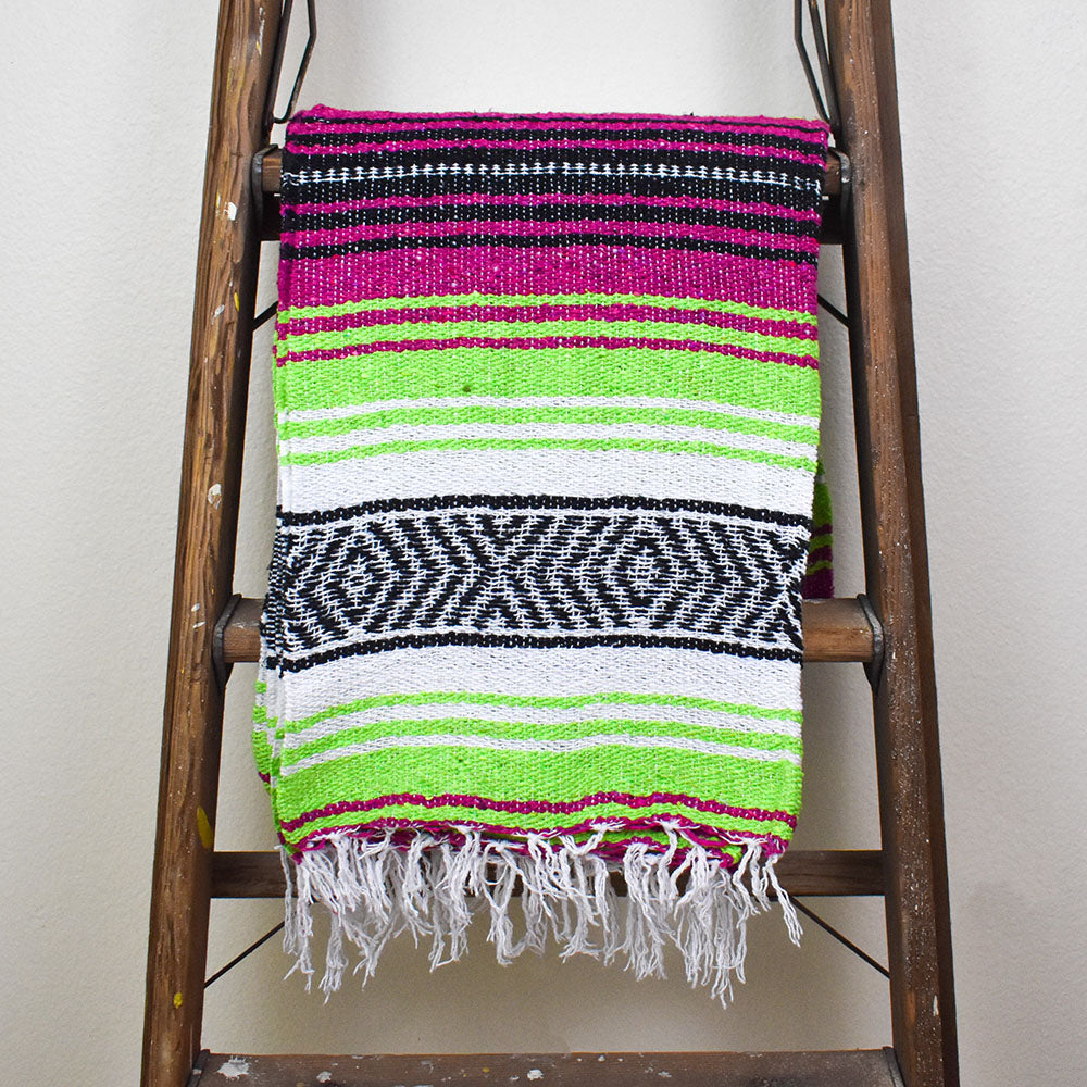 Neon Nights | Mexican Blanket