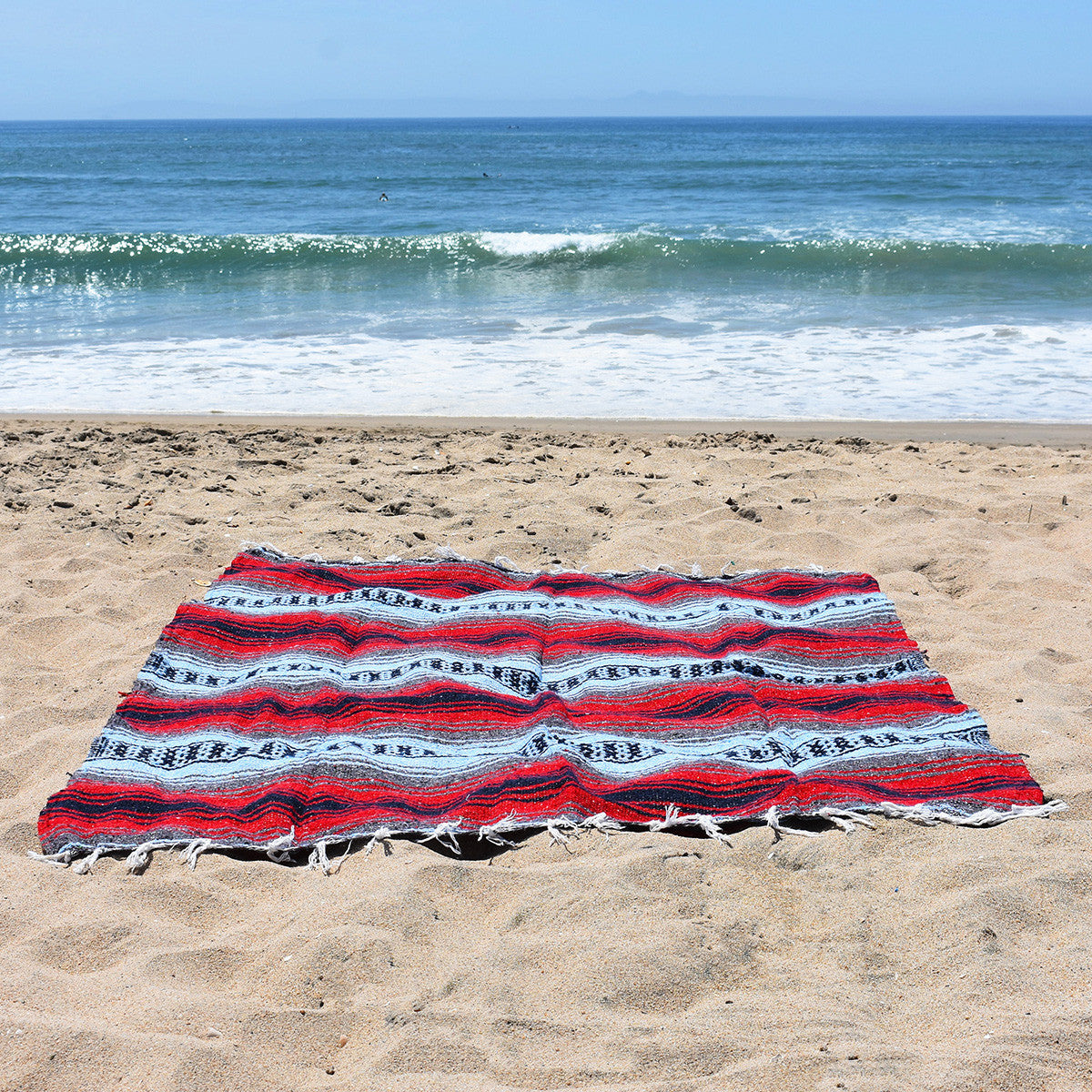 Kick summer up a notch with a boho beach blanket - Wild at Heart Bohemian Fiesta Blanket.