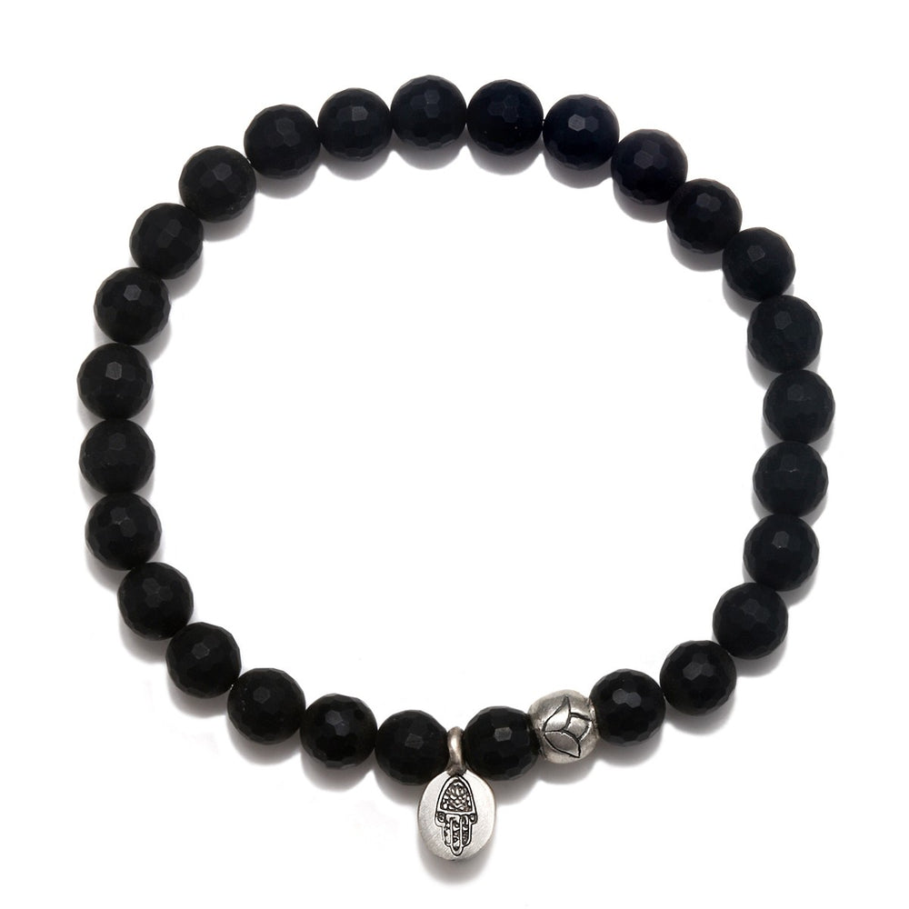 Load image into Gallery viewer, Protective Hamsa Bracelet - houseofmarpa