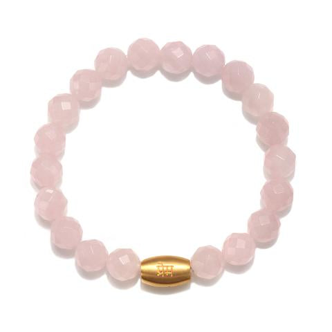 Load image into Gallery viewer, Power of Love Rose Quartz Bracelet - houseofmarpa