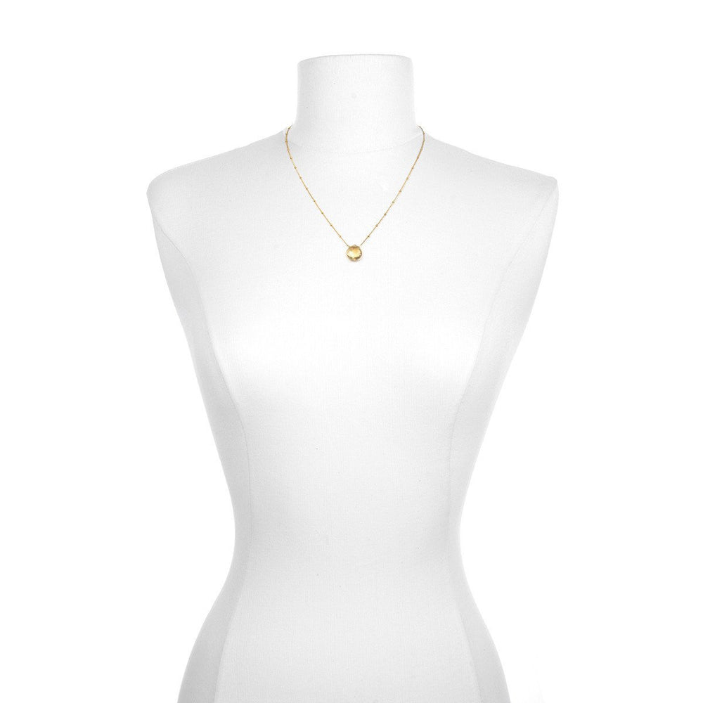 Load image into Gallery viewer, Gold Citrine Necklace - Brighter Than Sunshine - houseofmarpa