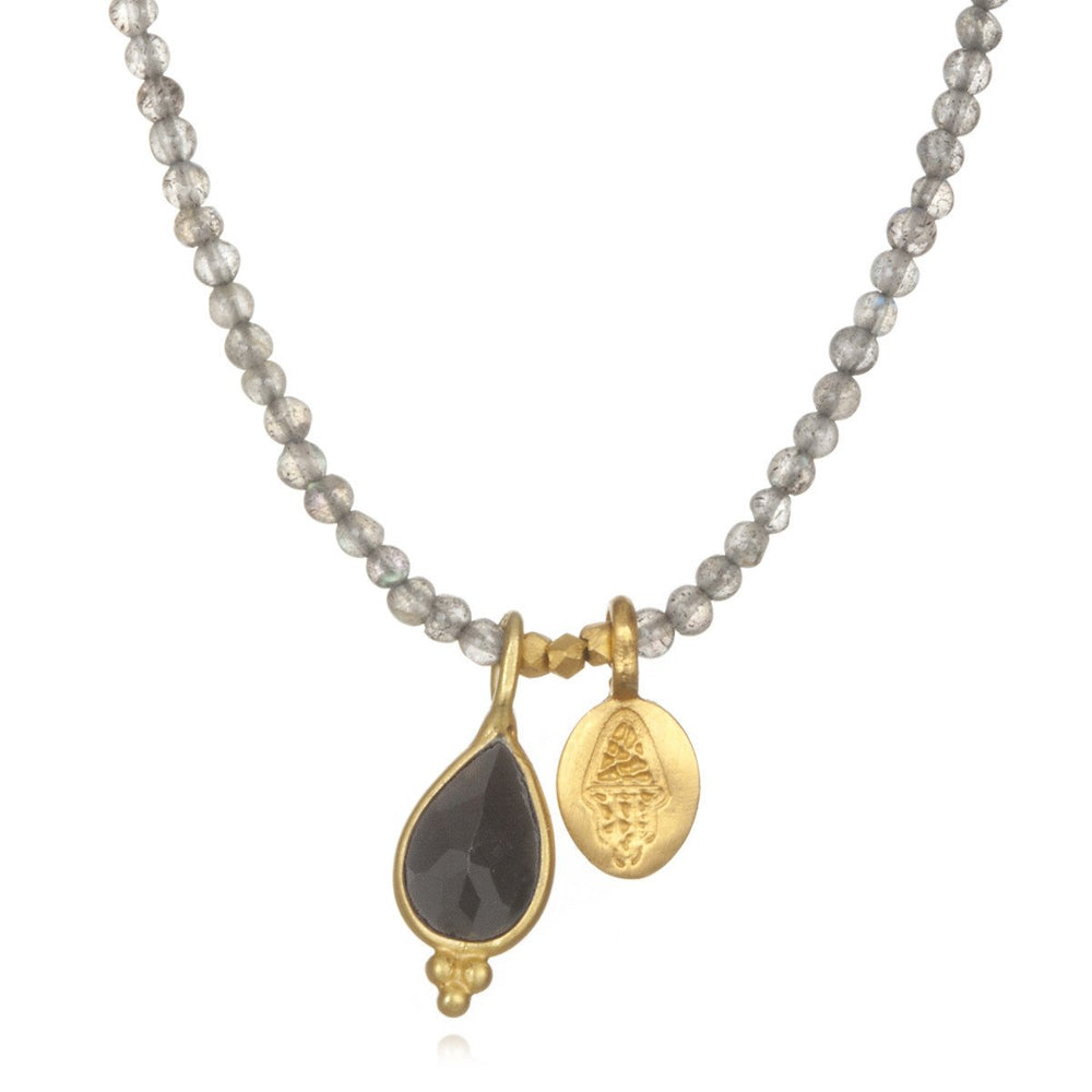 Load image into Gallery viewer, Labradorite Embrace Necklace - houseofmarpa