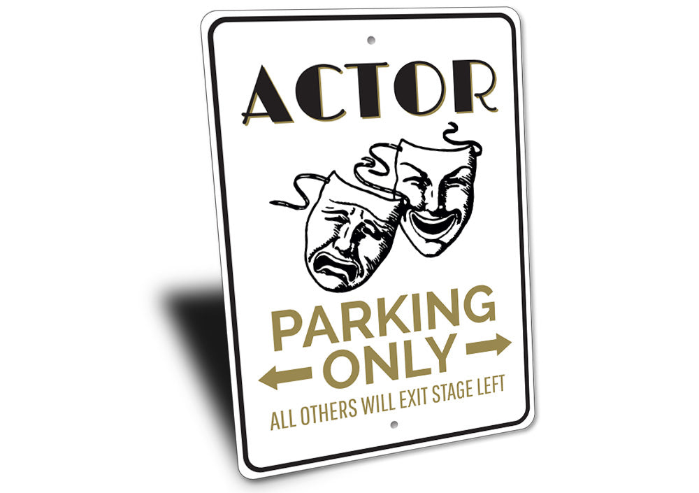 Drama Mask Sign Aluminum Sign