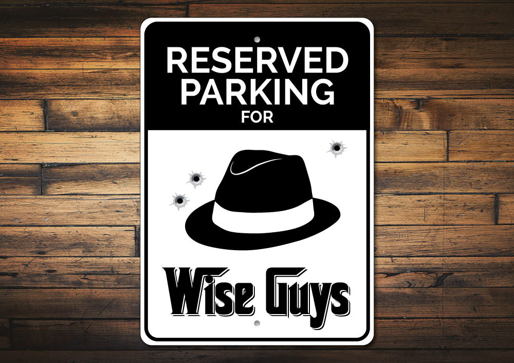 Wuse Guys Parking Sign Aluminum Sign
