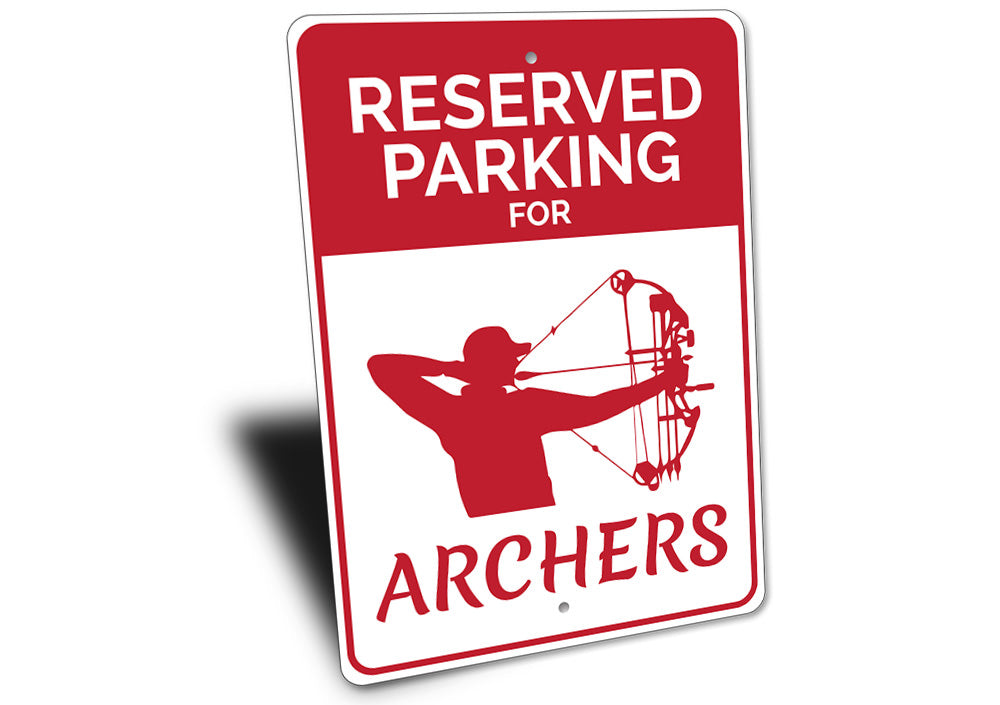 Archer Parking Sign Aluminum Sign