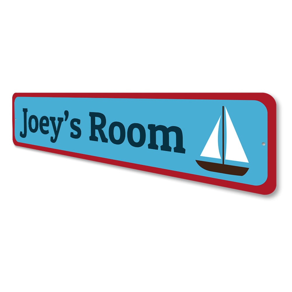 Sailboat Sign Aluminum Sign