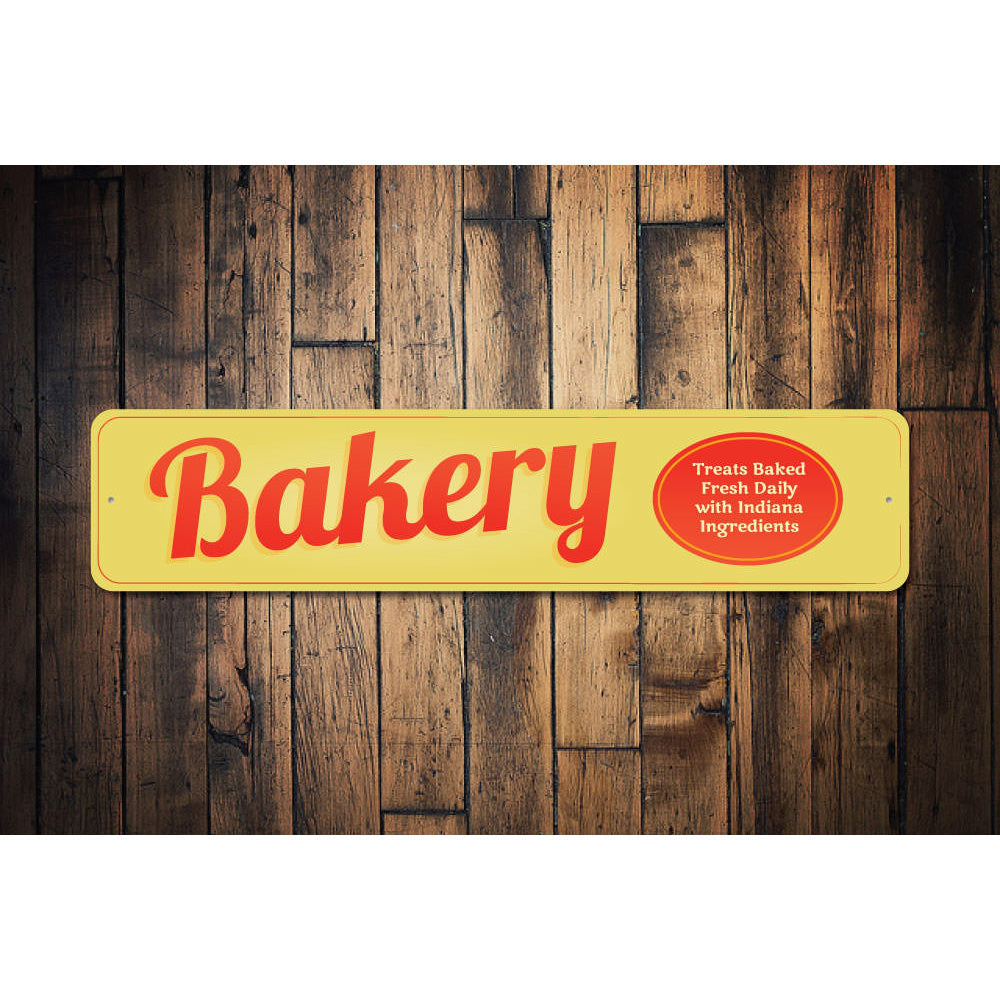 Bakery Sign Aluminum Sign