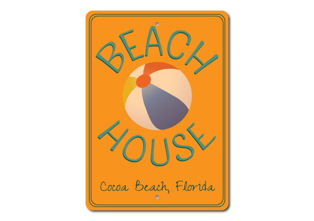 Favorite Beach House Sign Aluminum Sign