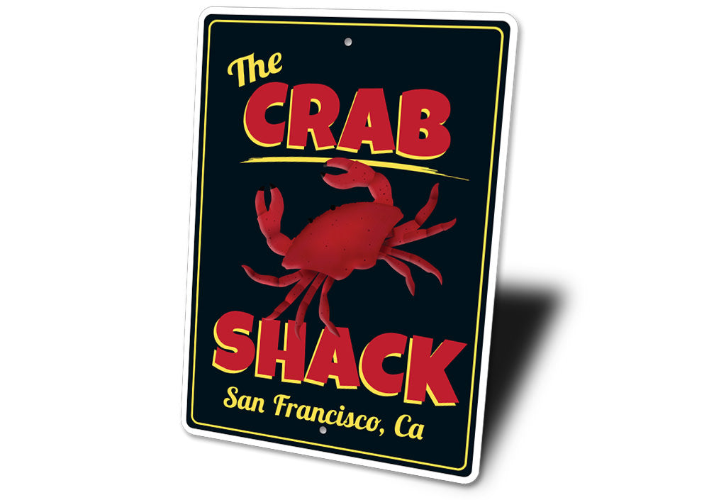 Crab Shack Seafood Sign Aluminum Sign