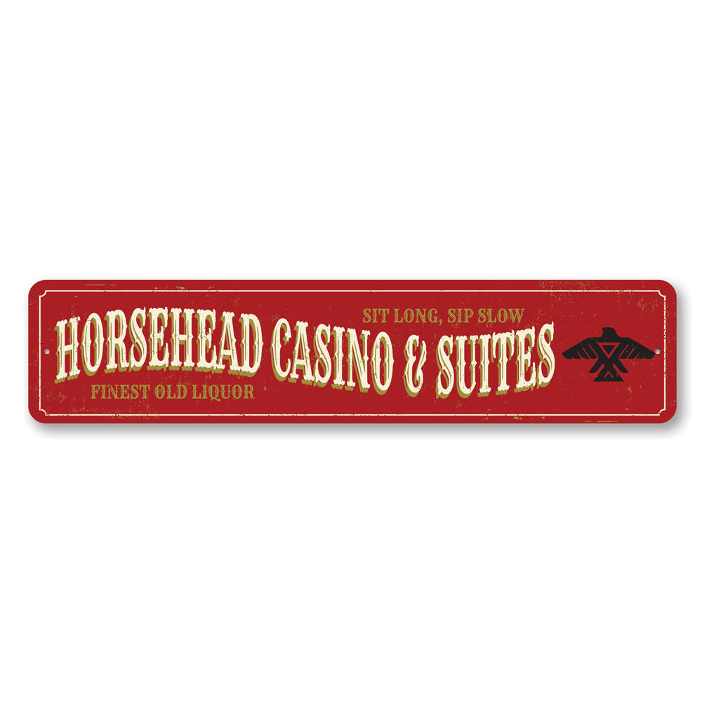 Horsehead Casino Sign Aluminum Sign