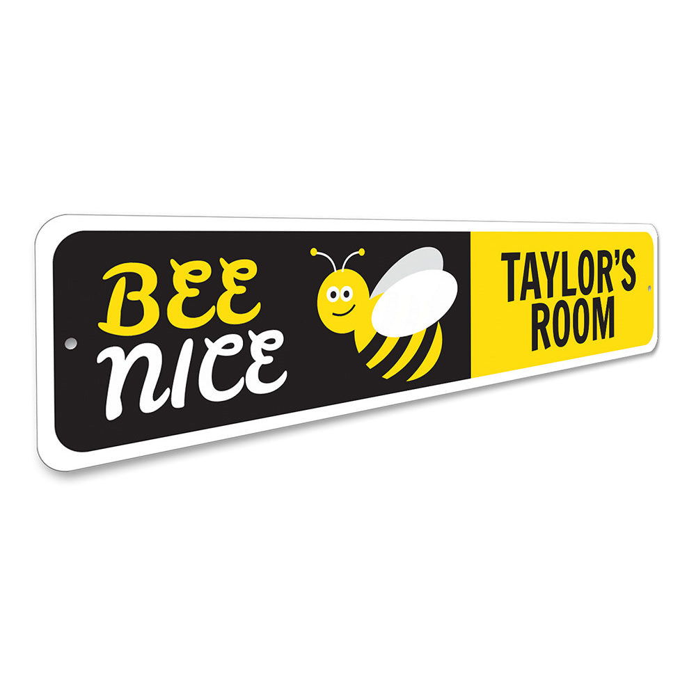 Bee Sign Aluminum Sign