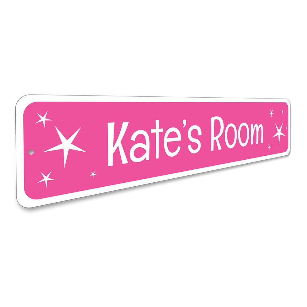 Pink Twinkle Sign Aluminum Sign