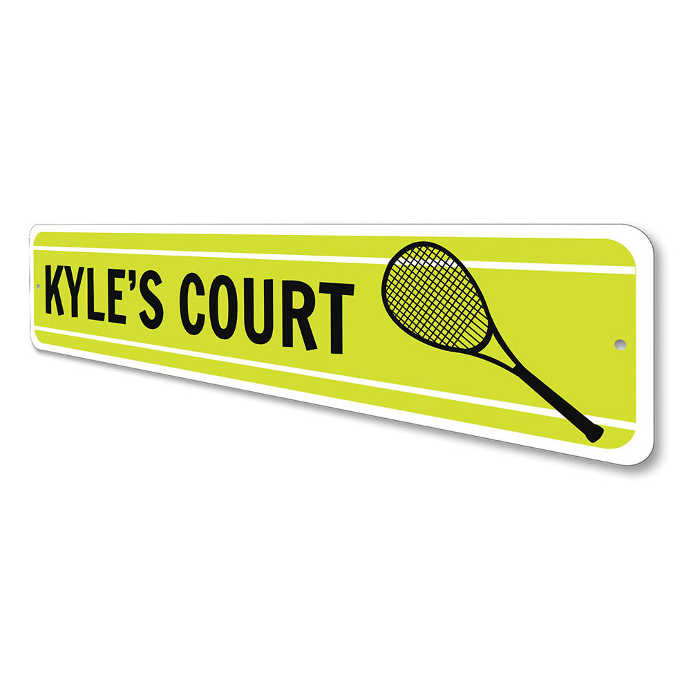 Tennis Sign Aluminum Sign