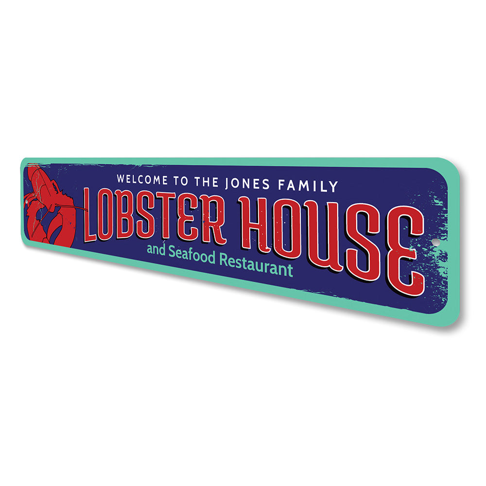 Lobster Shack Sign Aluminum Sign