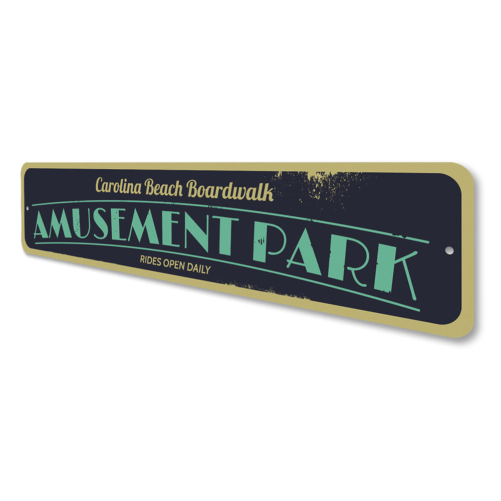 Amusement Park Sign Aluminum Sign