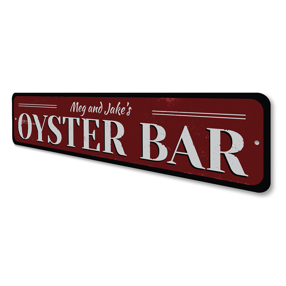 Oyster Bar Sign Aluminum Sign