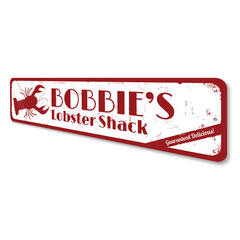 Fresh Lobster Sign Aluminum Sign