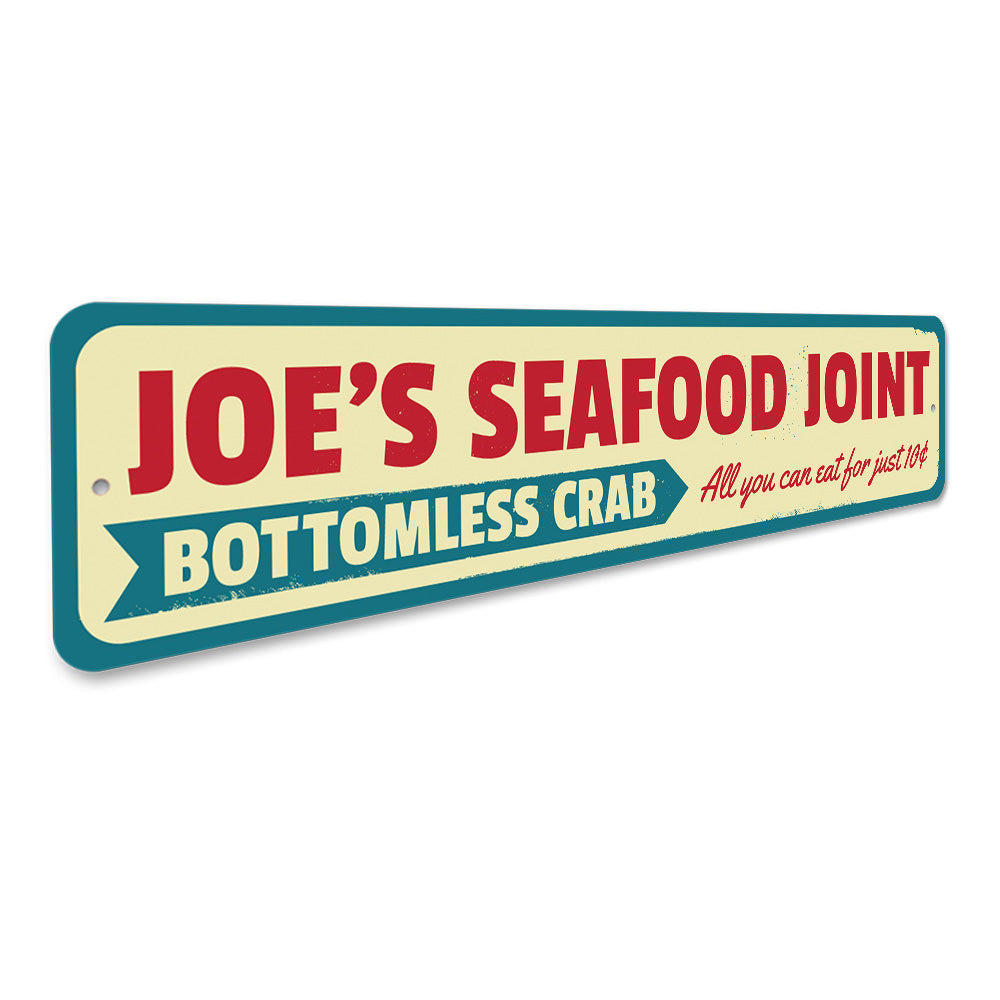 Seafood Joint Sign Aluminum Sign