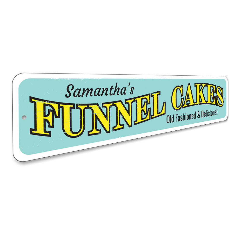 Funnel Cakes Sign Aluminum Sign