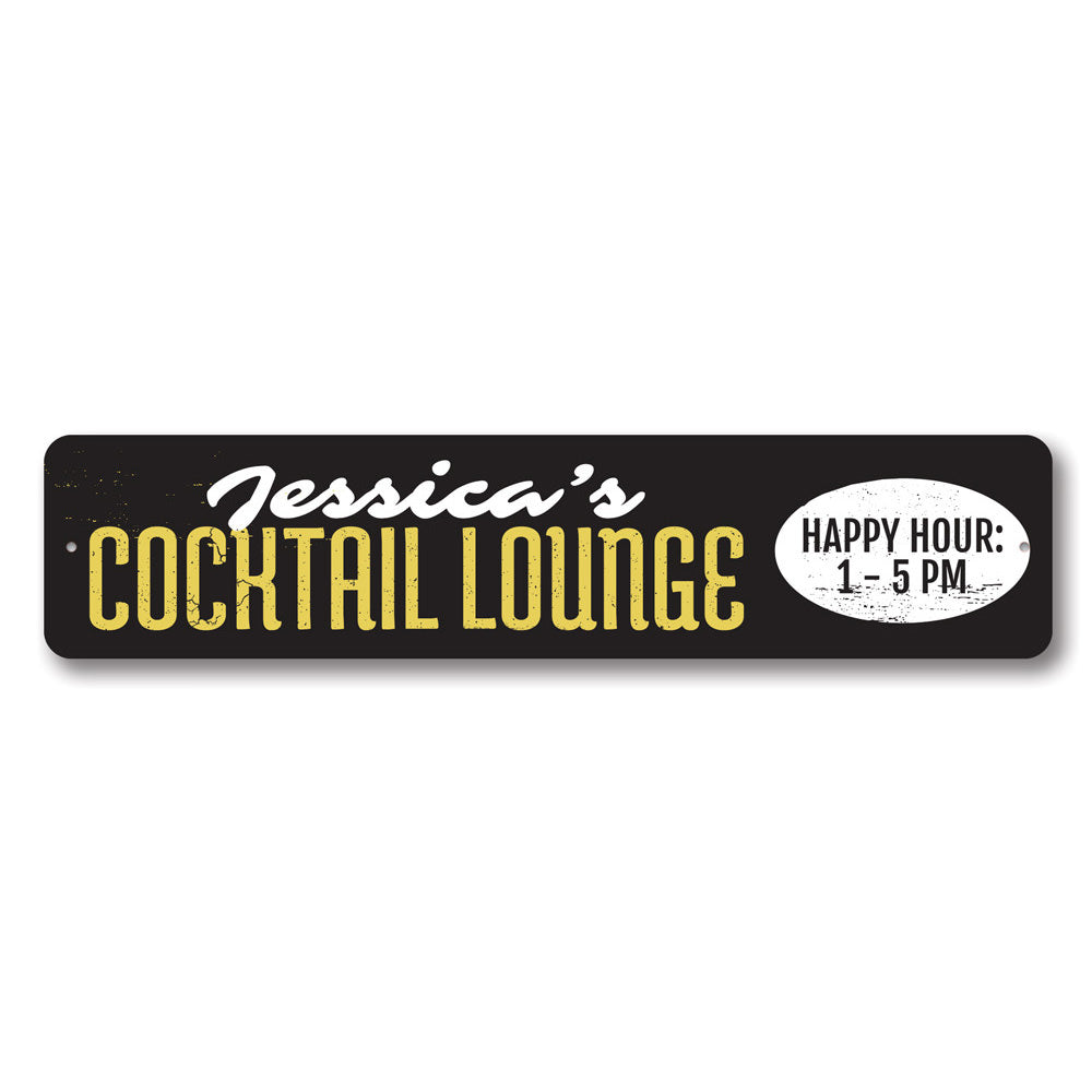 Cocktail Lounge Sign Aluminum Sign