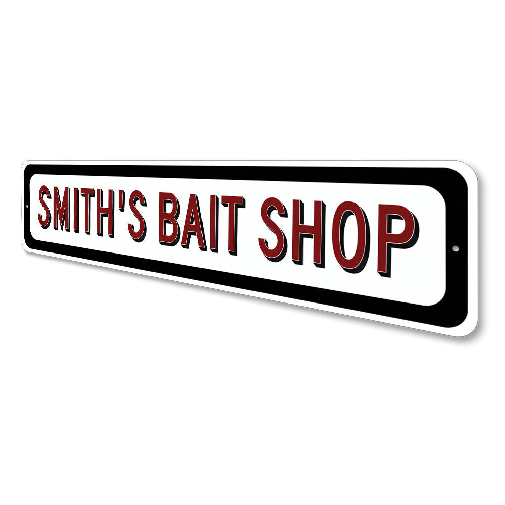 Bait Shop Sign Aluminum Sign