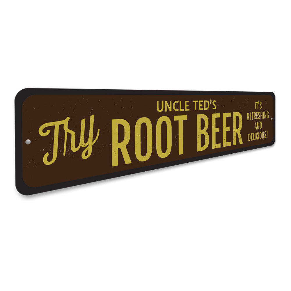 Root Beer Sign Aluminum Sign