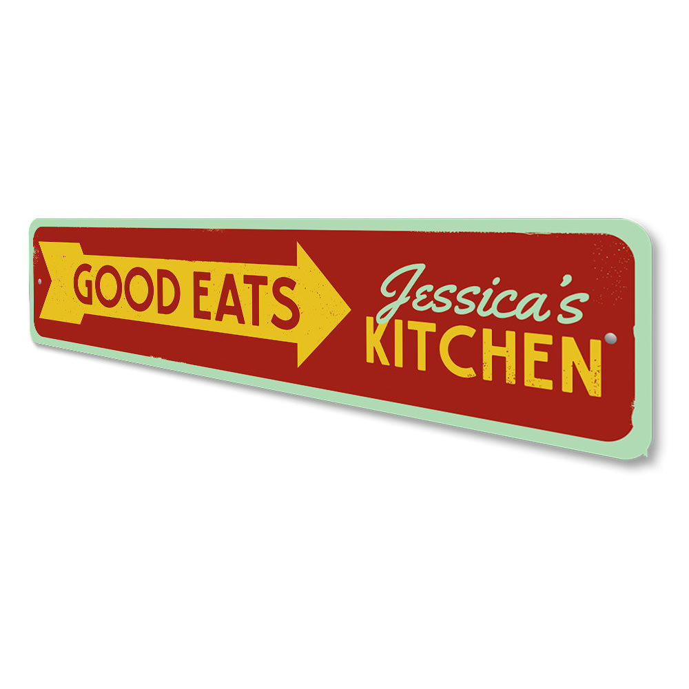 Good Eats Sign Aluminum Sign